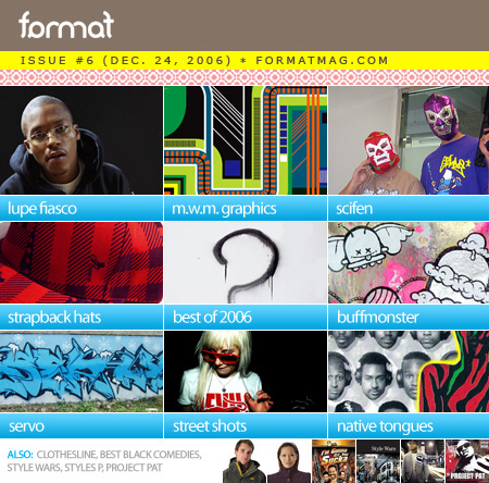 Format Issue #6 Table of Contents