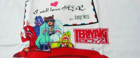 A Bathing Ape - Teriyaki Boyz I Still Love H.E.R T-Shirt