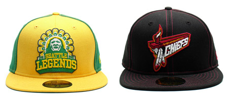 Frank 151's Distro League New Eras.