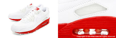 Nike Air Max 90 Leather Varsity Red