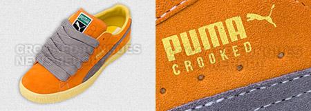 Puma x Crooked Tongues Clyde Part III