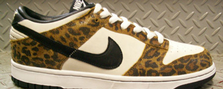Nike Dunk Low Atmos Safari Pack Leopard