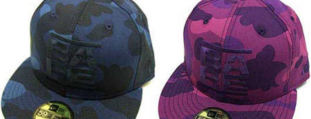 Bape Camo New Era Caps