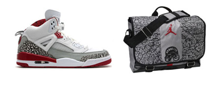 Air Jordan Spiz'ike Fire Red Package