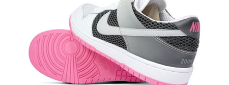 Nike Air Zoom White/Black/Pink Dunkesto