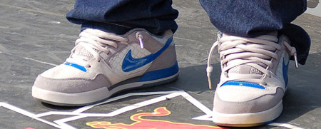 Nike SB P-Rod 2 Gray/White/Blue
