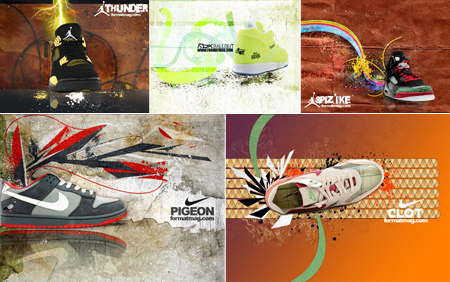 Format: Sneaker Wallpapers Set 2007