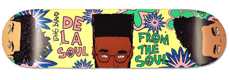 De La Soul x Signature Skateboards