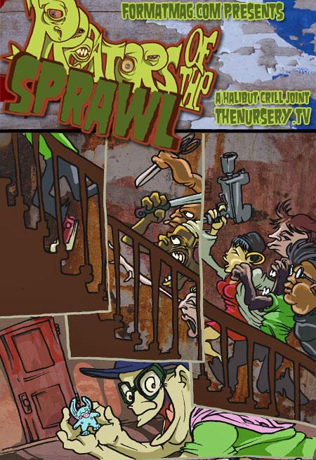 Predators of the Sprawl - Issue Two