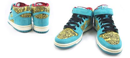 """Nike SB """"Vintage Floral"""" Dunk Mid"""