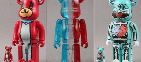 Ron English/play set products/Plaza Paris Bearbricks