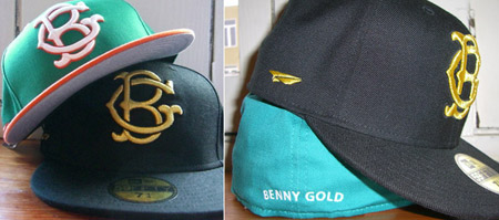 Benny Gold Fall New Era Fitted Cap