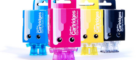 Cardboy CMYK Cartridges Set