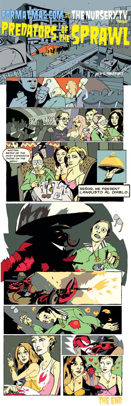 Predators of the Sprawl - Issue Four