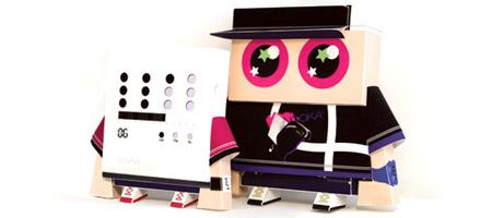 Shin Tanaka x Nooka Boxboy Paper Toy
