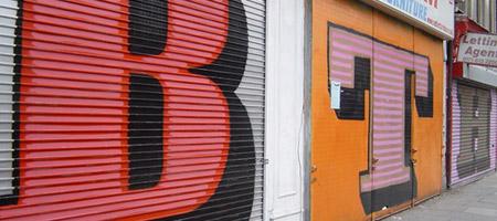Eine: Typographic Vandal