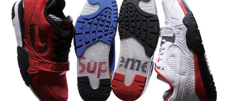 Supreme x Nike SB Air Trainer TW II