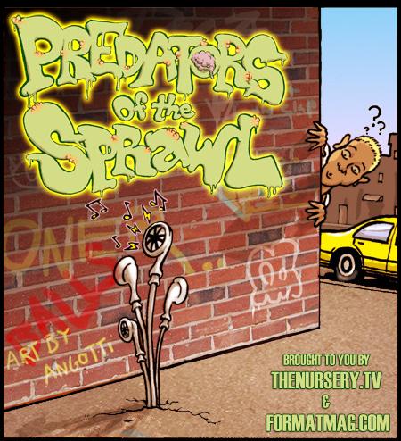 Predators of the Sprawl - Issue Six