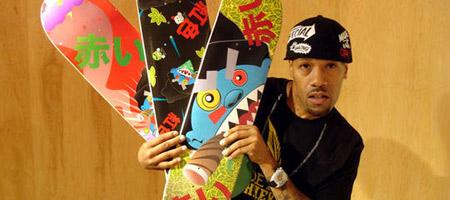 Redman's Mascot Skateboard Decks