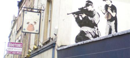 New Banksy in Bristol