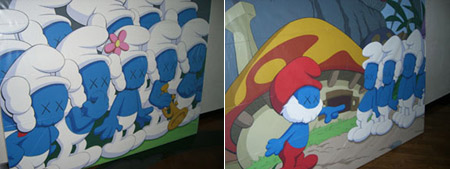 Kaws x Pharrell x Smurfs