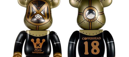 copperhead bearbrick