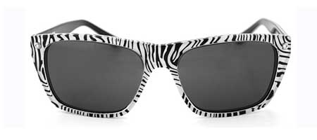 "Sabre ""The Dude"" Zebra Sunglasses"