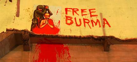 Streets of Bangkok - Free Burma