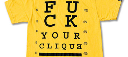 Triumvir Fuck Your Clique Online Exclusive