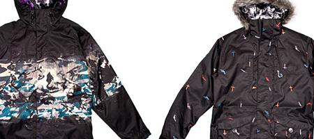 Burton x Warhol F/W '07 Jackets