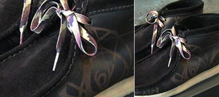 Futura Laboratories x Clarks Atomic Wallabee Boots
