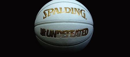 Undftd X Spalding Basketball