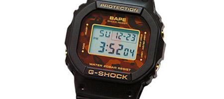 Bape x Casio G-Shock DW5600
