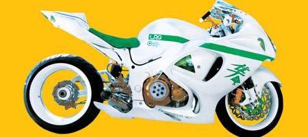 LRG x Suzuki Hayabusa