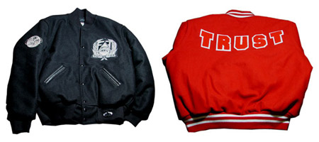 Secret Society X Holloway Trust Varsity Jackets