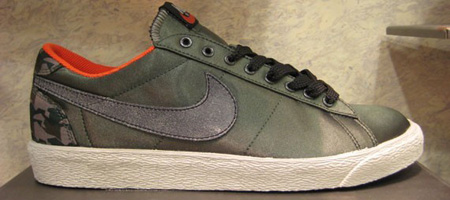 Nike Blazer Low - Satin - Camo