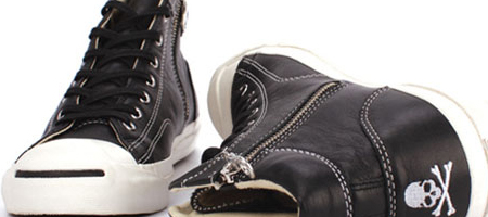 Converse x mastermind Japan × Beams Jack Purcell Mid
