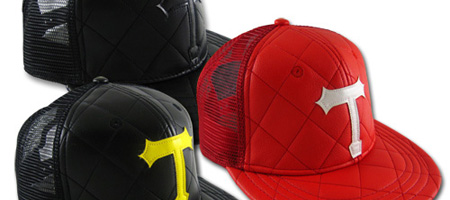 Triumvir Quilted Trucker Hat