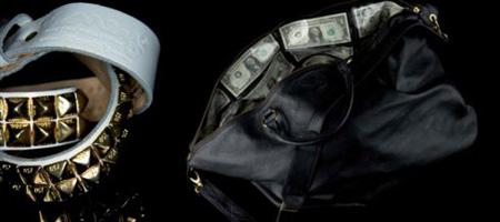 Money Clothing Belt & Swag Bag