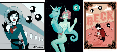 "Tara McPherson - ""Lost Constellations"""