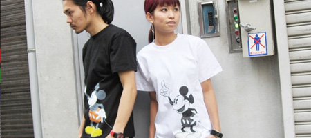 Atmos x Disney - Mickey & Minney Mouse Tees