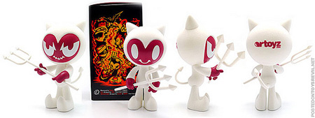 Artoyz Exclusive White VIL The Devil