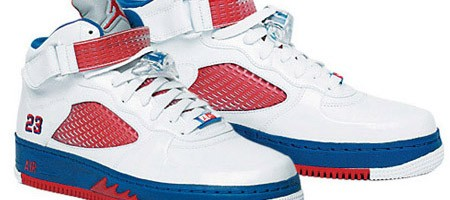 Air Jordan V x Air Force 1 Fusion USA