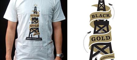 Benny Gold x Black Chamber 1 Year Anniversary T-Shirt