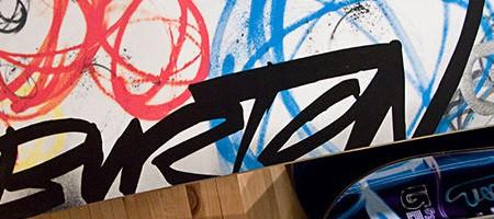 Burton x Futura Snowboards