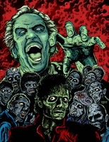 Zombie Art Show At MF Gallery