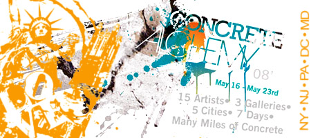 Concrete Alchemy 5-City Tour