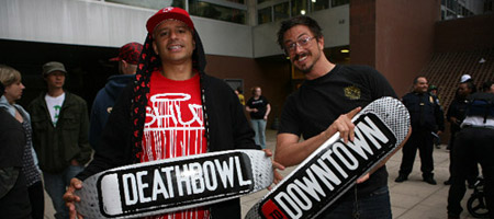 Deathbowl to Downtown x 5Boro Skateboards