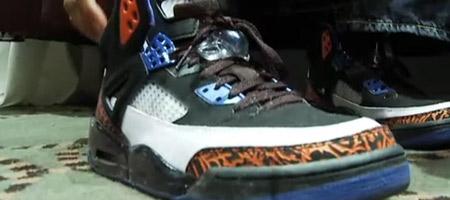 """Spike Lee Exclusive """"Knicks"""" - Air Jordan Spizikes"""