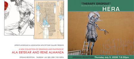 FIFTY24SF Gallery x Hera x Ala Ebtekar x Rene Almanza